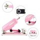 Supermatic Love Sex Machine Female Masturbation With 9 Attachments - B