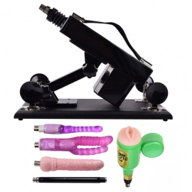 Sex Machine with Anal Attachment Sex Furniture for Men and Women