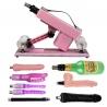 Adjustable Speed Automatic Love Sex Machine-Pink