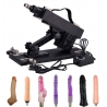 Powerful Machine for Women and Men,Thrusting Automatic Machine Gun with Various Attachments
