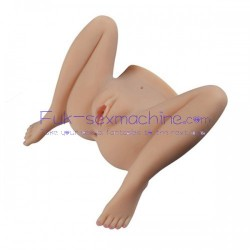Half Size Sex Doll With Realistic Vagina and Anus